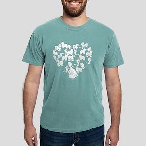 Old English Sheepdog Hea Mens Comfort Colors Shirt