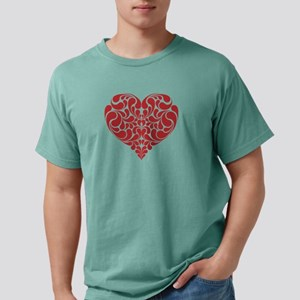 Real Heart Mens Comfort Colors Shirt