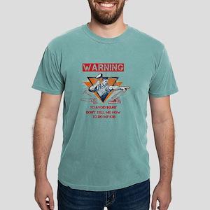 Woodworking Tshirt - Warning - to avoid injury, do