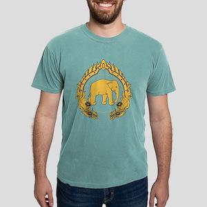 Thai-elephant-gold-black T-Shirt
