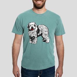 Old English Sheepdog Mens Comfort Colors Shirt