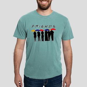 Friends Umbrellas Mens Comfort Colors Shirt