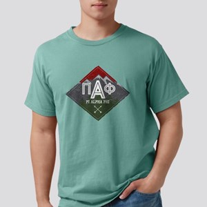 Pi Alpha Phi Mountains Mens Comfort Color T-Shirts