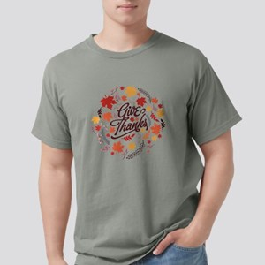 Give Thanks Mens Comfort Colors Shirt