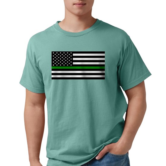 U.S. Flag: The Thin Green Line