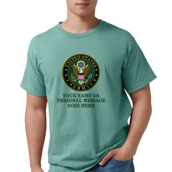 CUSTOM TEXT U.S. Army Symbol
