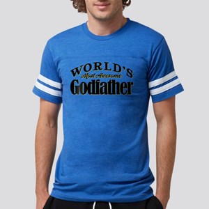World's Most Awesome Godfather Mens Football Shirt
