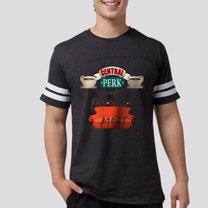 Central Perk and Friends Mens Football Shirt