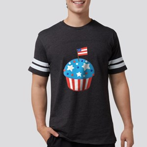 4th of July Independence Day Cupcake T-Shirt