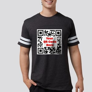 Personalized QR Code Mens Football Shirt