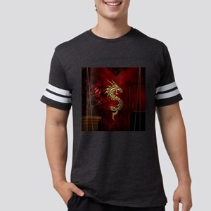 998a9ef2a Oriental Dragon Men's Football Tees - CafePress