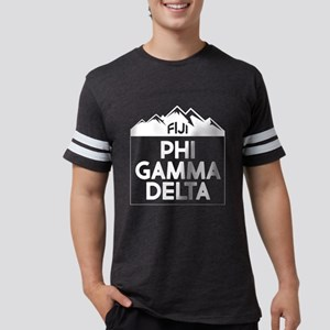 Phi Gamma Delta Mountains Mens Football Shirt