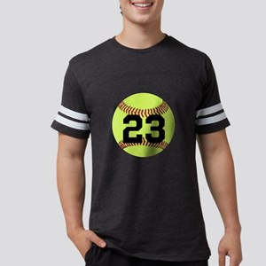 Softball Number Personalized Mens Football Shirt