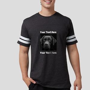 Dog Labrador Retriever Mens Football Shirt