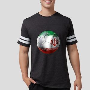 Iran Soccer Ball Mens Football Shirt