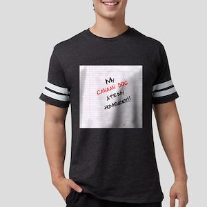 canaandoghome Mens Football Shirt