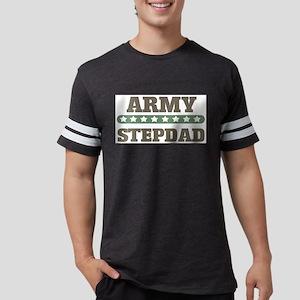 Army Stepdad Mens Football Shirt