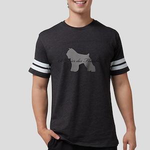 28-greysilhouette Mens Football Shirt