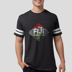 Phi Gamma Delta Mountains Diam Mens Football Shirt