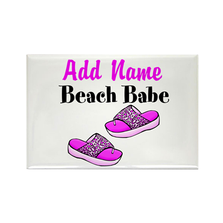 BEACH BABE Rectangle Magnet (100 pack)