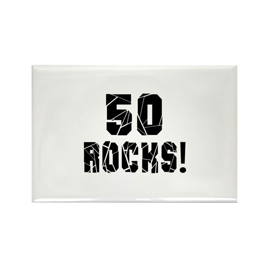 50 Rocks Birthday Designs