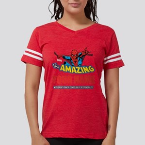 Personalized Amazing Spiderm Womens Football Shirt