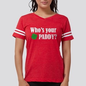 Who's Your Paddy? Women's Dark T-Shirt