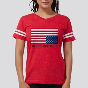 6d34d204 Upside Down American Flag Women's T-Shirts - CafePress