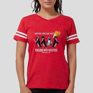 13663840 Chainsaw Women's Football Tees - CafePress