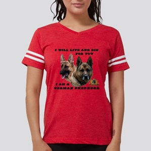 GSD Live and Die For You Womens Football Shirt