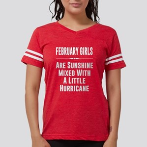 d00c2a5de8d4b9 February girls are sunshine mixed with a l T-Shirt