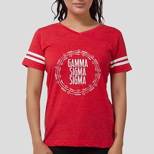 Gamma Sigma Sigma Arrows Womens Football T-Shirts