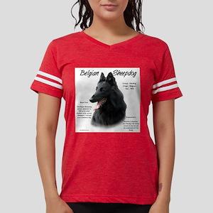 Belgian Sheepdog Womens Football Shirt