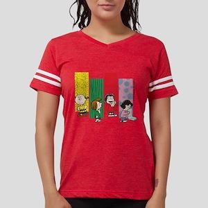 Peanuts Gang Lineup Womens Football Shirt
