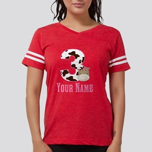 3rd Birthday Girl Horse Womens Football Shirt