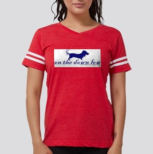 """""""on the down low"""" Doxie Ash Grey T-Shirt"""
