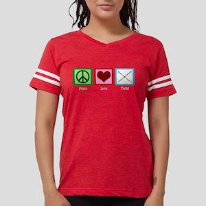 Peace Love Twirl Women's Dark T-Shirt