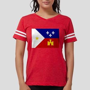 Flag of Acadiana Louisiana T-Shirt