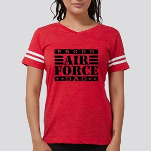 airforcedadx2 Womens Football Shirt