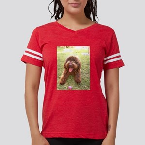 spanish water dog brown w toy T-Shirt
