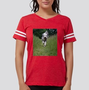 bearded collie running T-Shirt