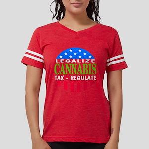 Legalize Cannabis Women's Dark T-Shirt