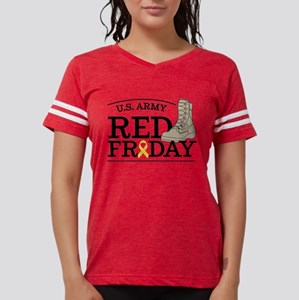 Army RED Friday Boot Womens Football Shirt