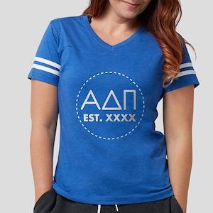 Alpha Delta Pi Circle Womens Football Shirt