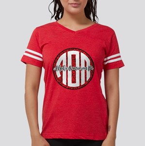 Alpha Omicron Pi Monogram Womens Football Shirt