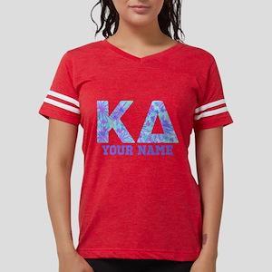 Kappa Delta Tropical Letters Womens Football Shirt