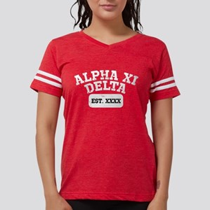 Alpha Xi Delta Athletic Pers Womens Football Shirt