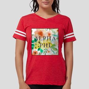 Alpha Phi Floral Womens Football Shirt
