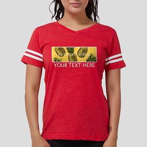 Zeta Tau Alpha Pinapples Womens Football Shirt
