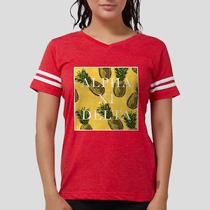 Alpha Xi Delta Pineapples Womens Football Shirt